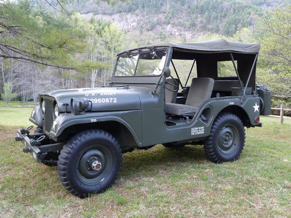 Tony Salazar's 1953 Willys M38A1