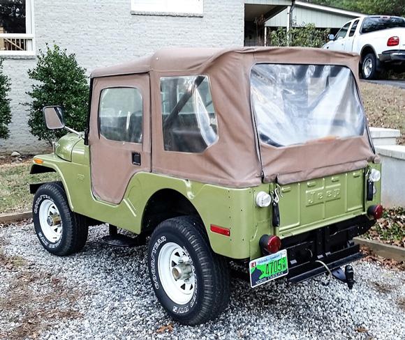 Dennis Boo's 1971 CJ-5 Jeep