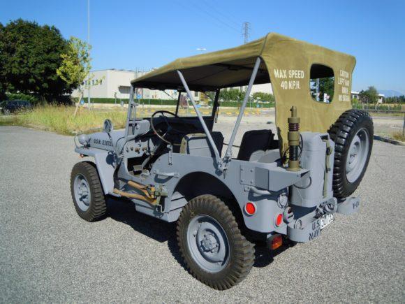 Gianfranco Fracasso's 1945 Willys MB