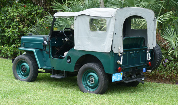 Manfred Willich's 1953 Willys CJ-3B