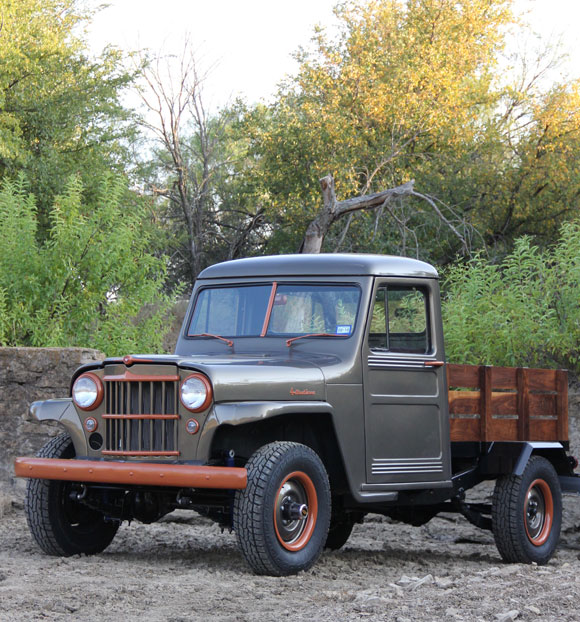 Terry Vick's 1957 Willys Pickup