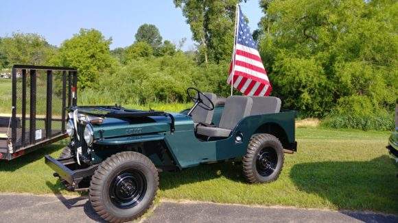 Rick Toering's 1953 Willys CJ-3A