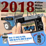 Photo Contest and Tech Article Submission Deadline – Oct. 15th, 2018