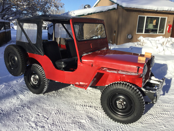 Tom Cornwellsr's 1951 Willys CJ-3A