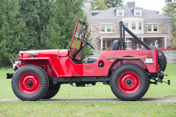 Ron Foss' 1946 Willys CJ-2A