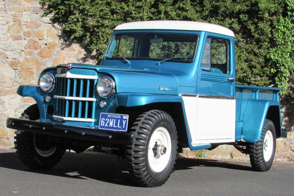 Scott Porter's 1962 Willys Pickup