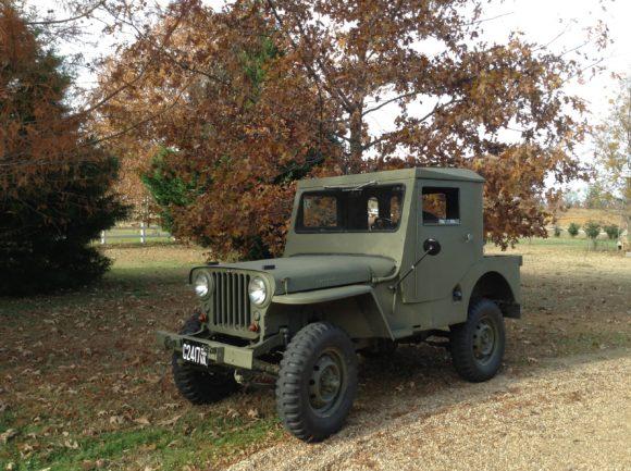 Ebor Ross 1946 CJ2A - After Paint