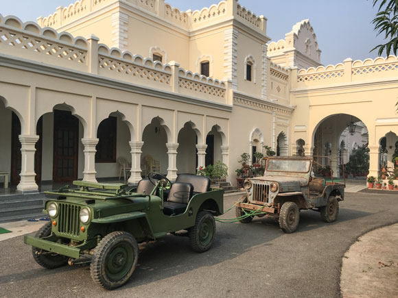 Arnoraj Singh's Willys CJ2A