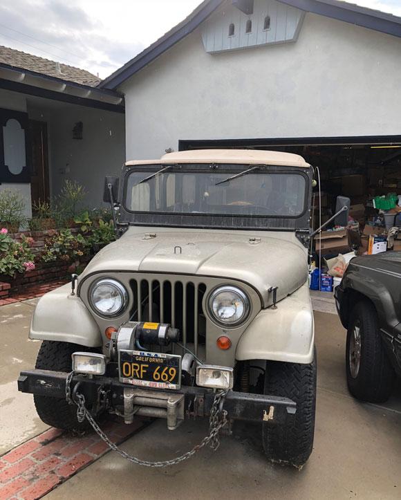 Craig Reed's 1964 Jeep CJ-5