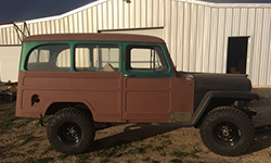Debbie and Chuck Schaefer - 1958 Willys Wagon