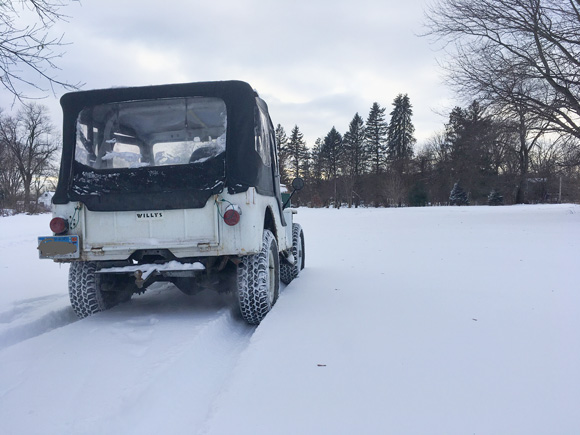 Isaac Grover's 1952 Willys CJ-3A