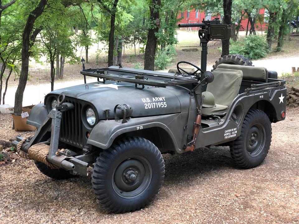 Joshua Little's 1955 Willys M38A1