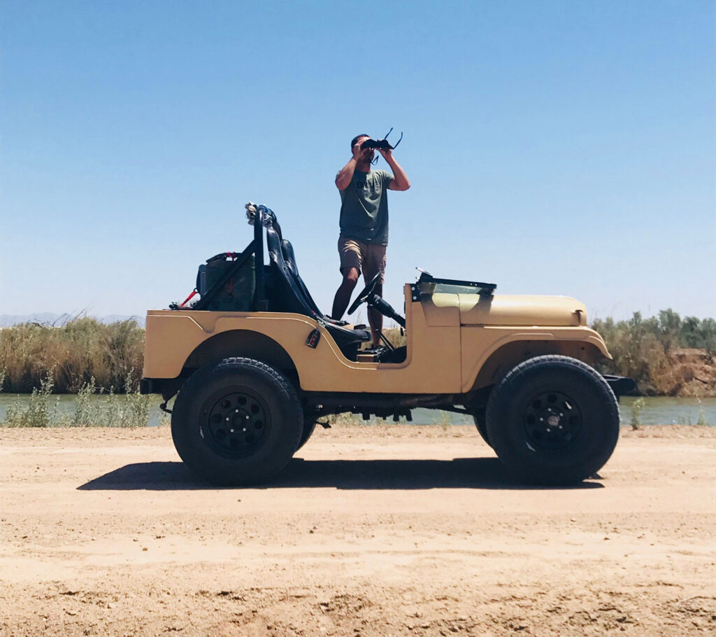 A Willys M38a1 Back In The Desert After 26 Years