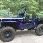 A Willys CJ-2A Restored and in Our Memories Forever