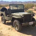 A Willys MB Restored and at Home in the California Desert