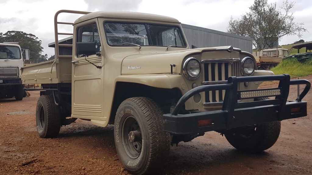 A Late Willys Truck Produced in Brisbane, Australia :: Kaiser Willys