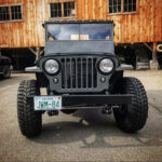 A Willys CJ-2A Rebuilt for Summer Long Rides